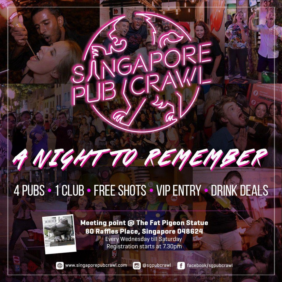 Singapore Pub Crawl | Event in Singapore | AllEvents.in