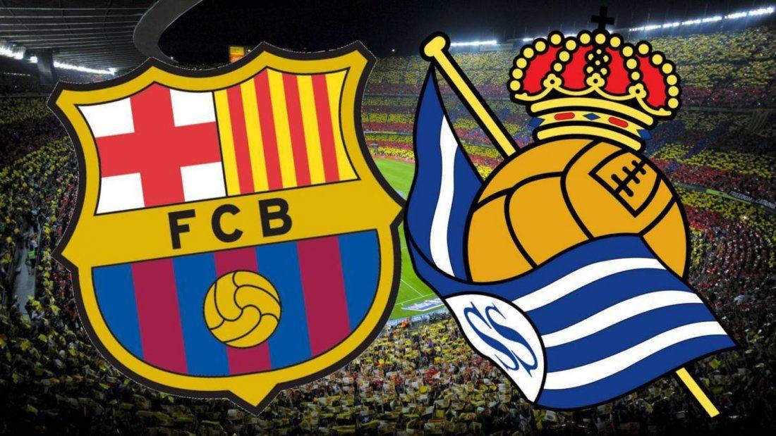 La Liga FC Barcelona vs Real Sociedad