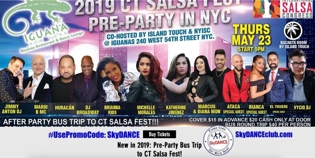 SkyDANCE Discount for Connecticut Salsa Festival - CTSalsaFest