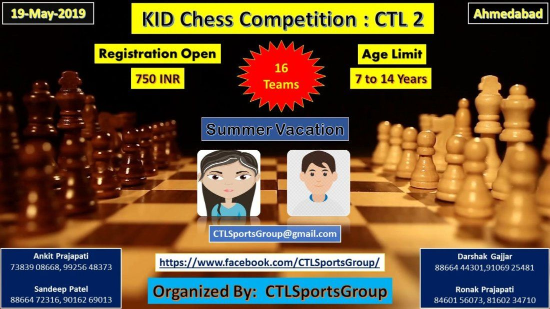 Kid Chess Competition  CTL 2