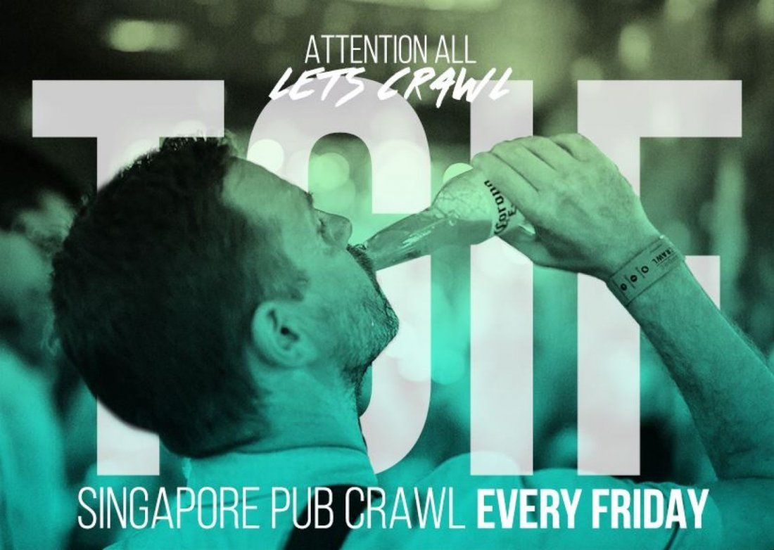 TGIF  Pub Crawl, 2 January | Event in Singapore | AllEvents.in