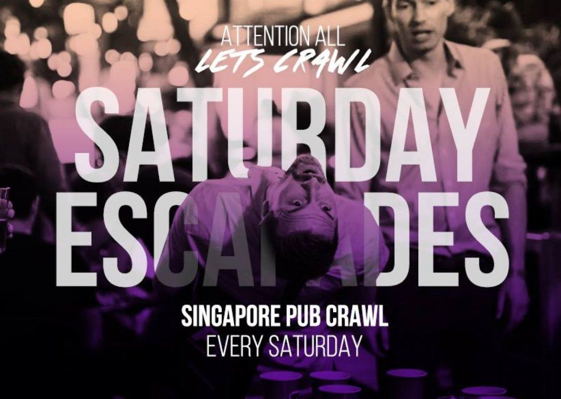 SaTuRdAy EsCaPaDeS Pub Crawl