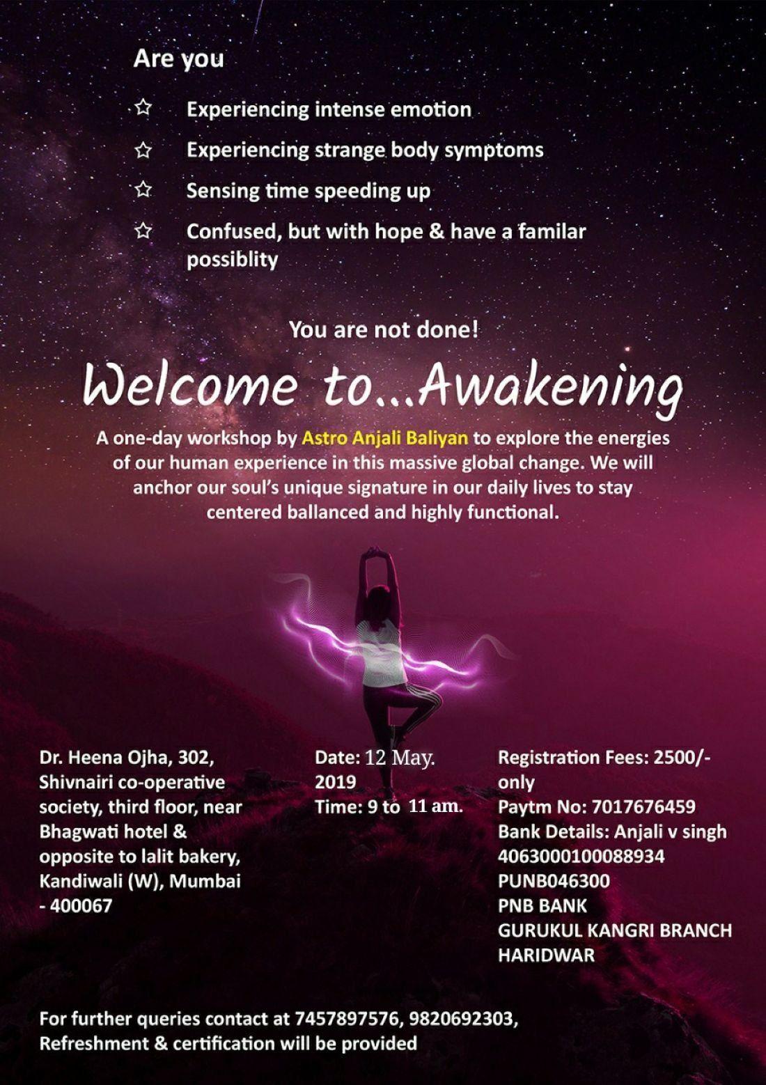 Spiritual Awakening Workshop