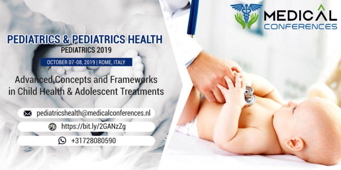 International Conference on Pediatrics & Pediatrics Health at Rome, Rome