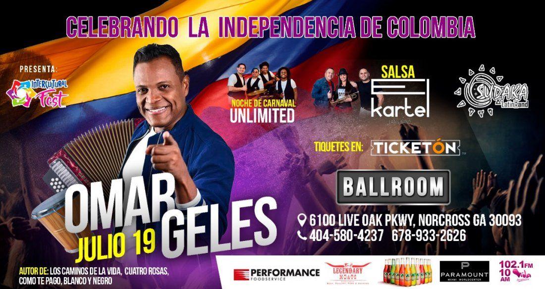 Omar Geles-Independencia De Colombia En ATlanta-El Kartel-Unlimited