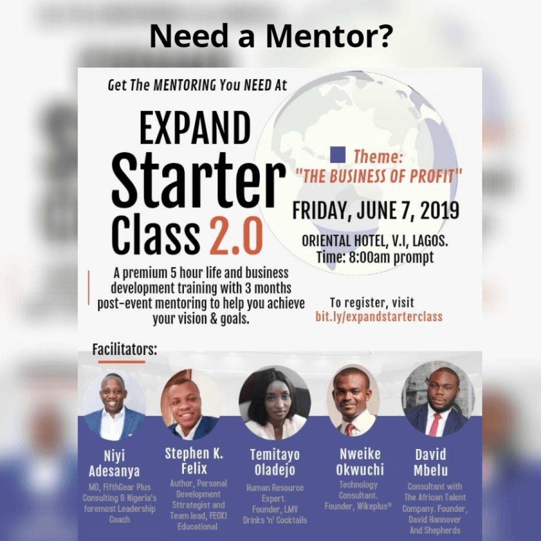 Expand Starter Class 2.0