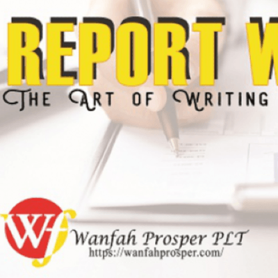REPORT WRITING  The Art Of Writing A Good Report