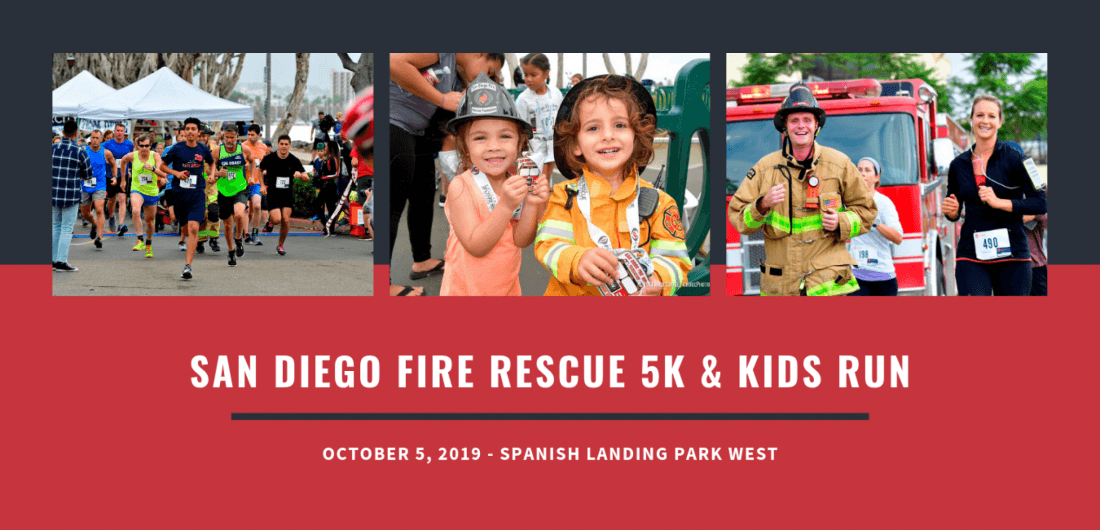 San Diego Fire Rescue 5K & Kids Run at Spanish Landing Park