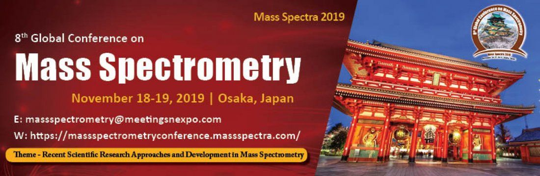 8thGlobal Conference on Mass Spectrometry
