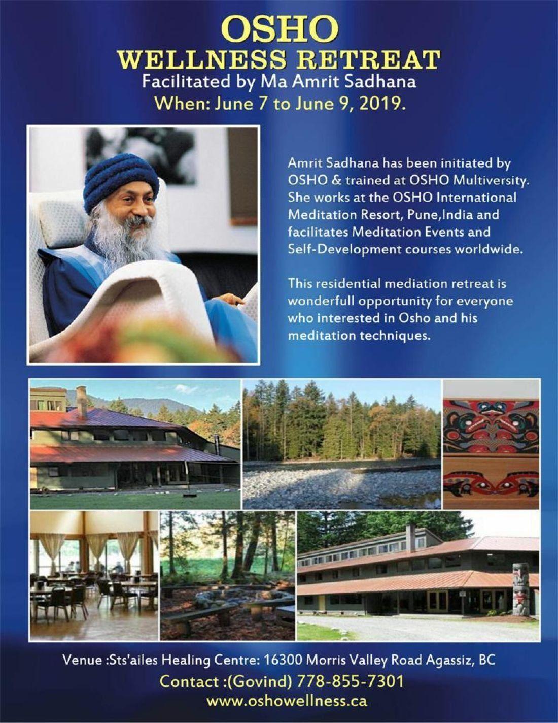 Osho wellness retreat 2019