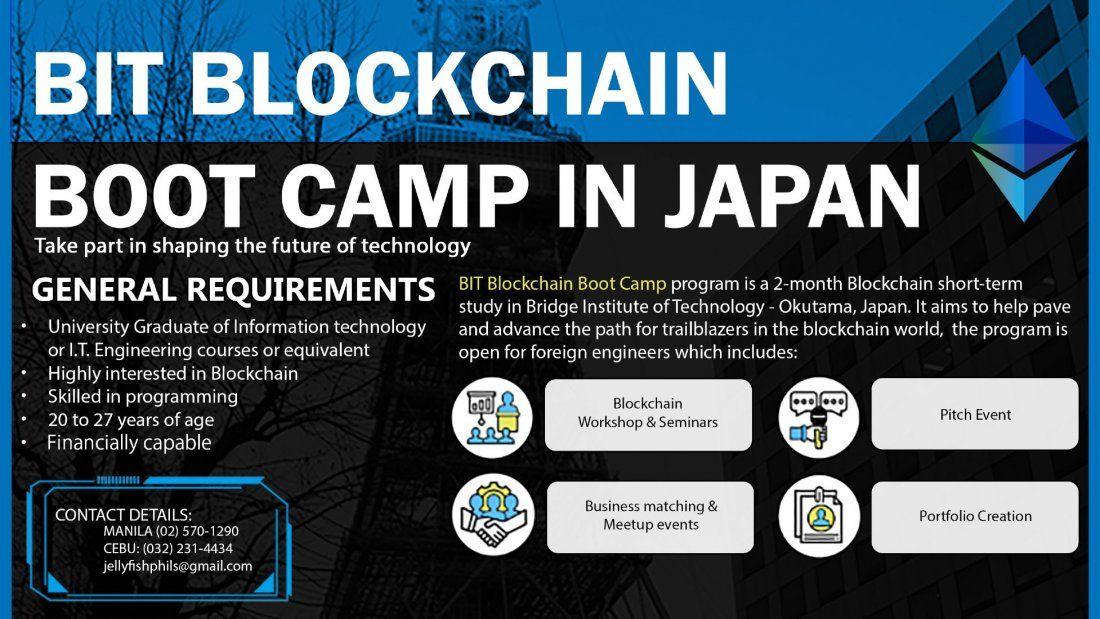 Blockchain Bootcamp in Japan at Jellyfish Education