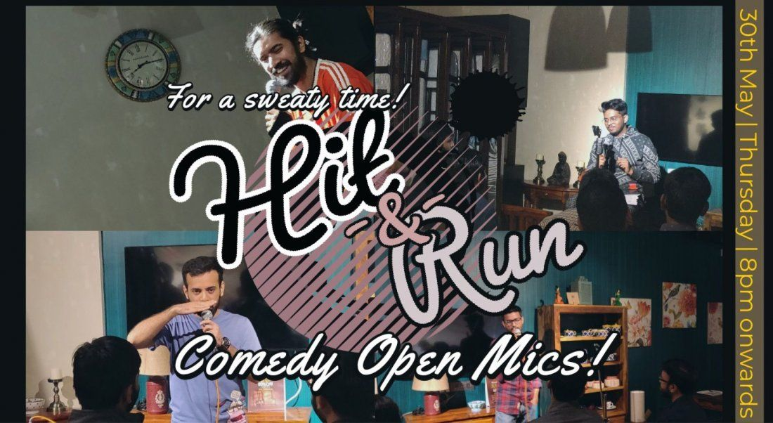 Hit & Run 50.0 - Stand-up comedy open mic