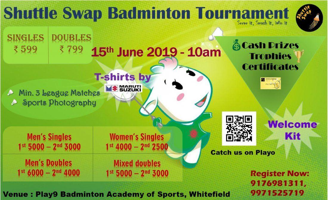 Shuttle Swap Badminton Tournament