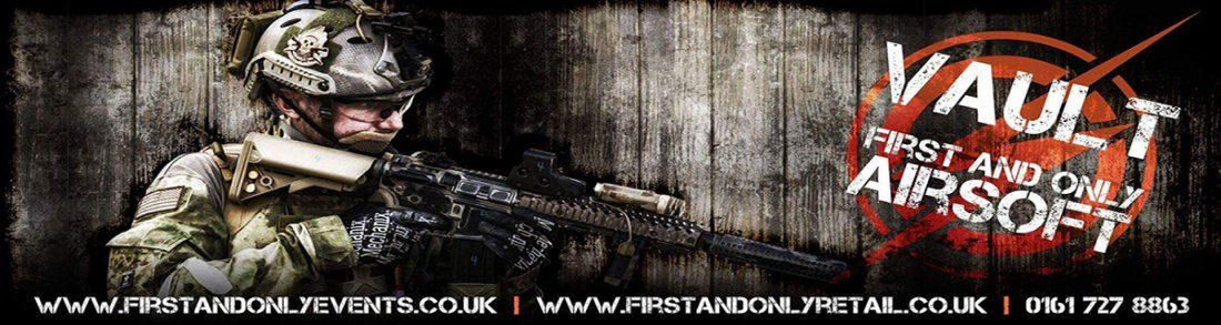 Indoor Airsoft at the Vault Airsoft Manchester CQB and Shop in Bury