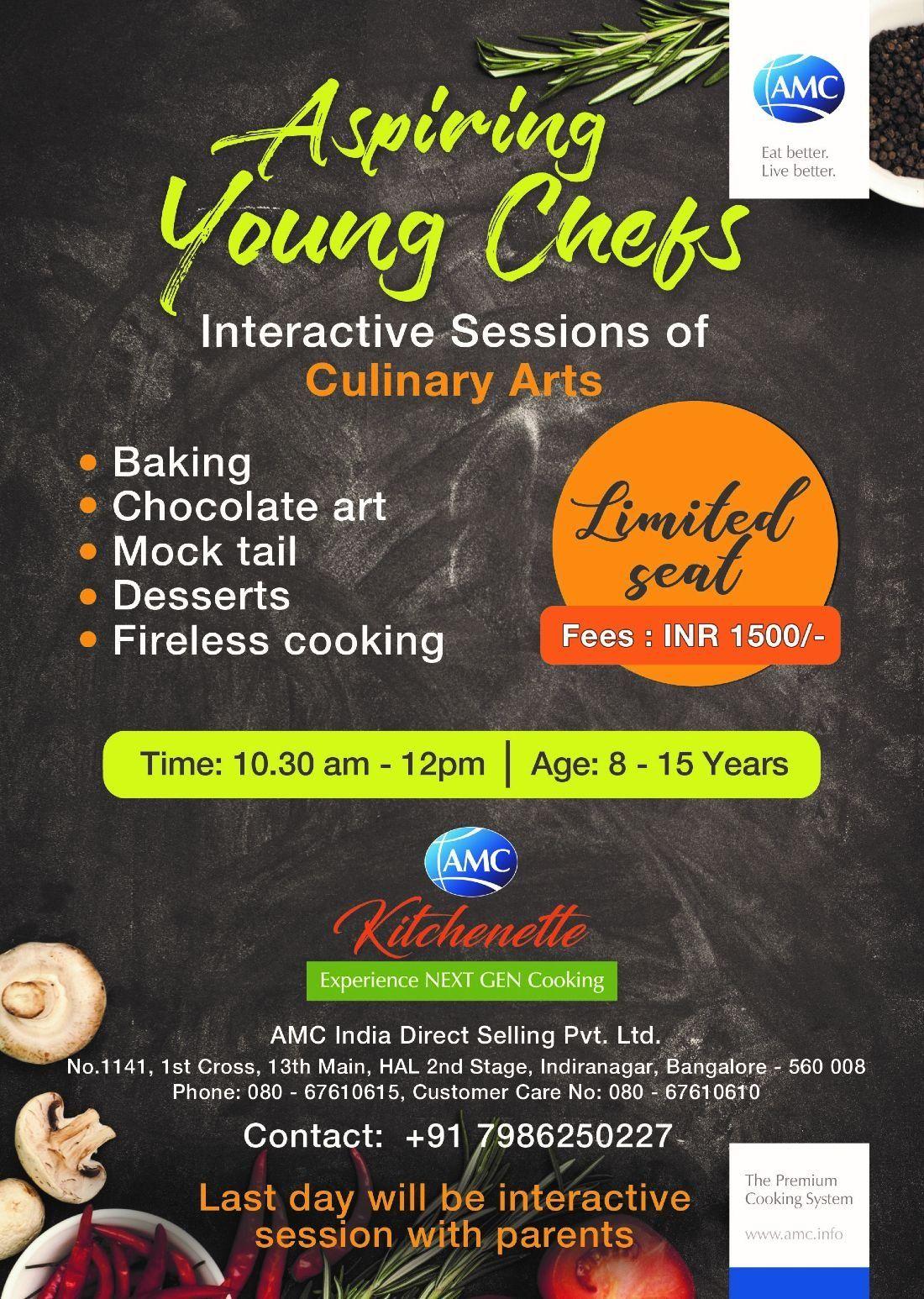 Aspiring Young Chefs | bangalore