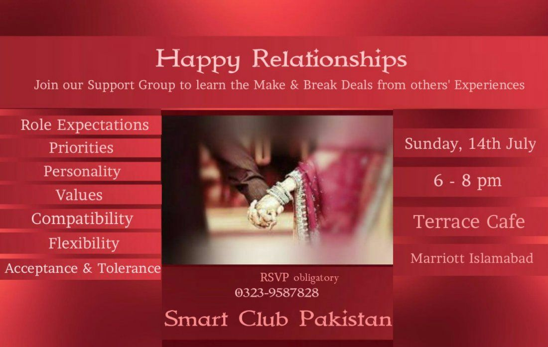 Social Meetup to share The Secrets of Successful Relationships