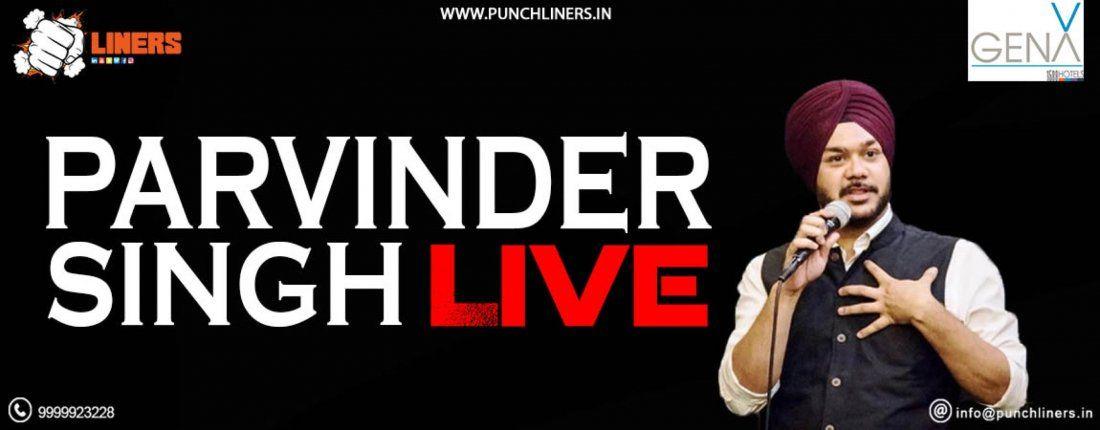 Punchliners Comedy Show- Parvinder Singh Live in Ajmer