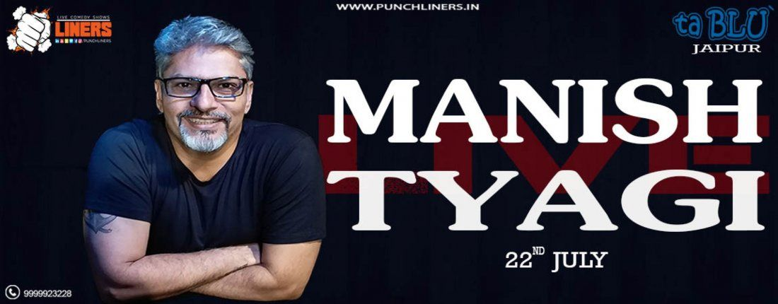Punchliners Comedy Show ft Manish Tyagi