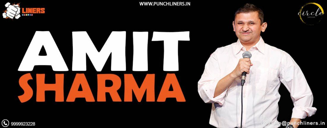 Punchliners Comedy Show ft Amit Sharma