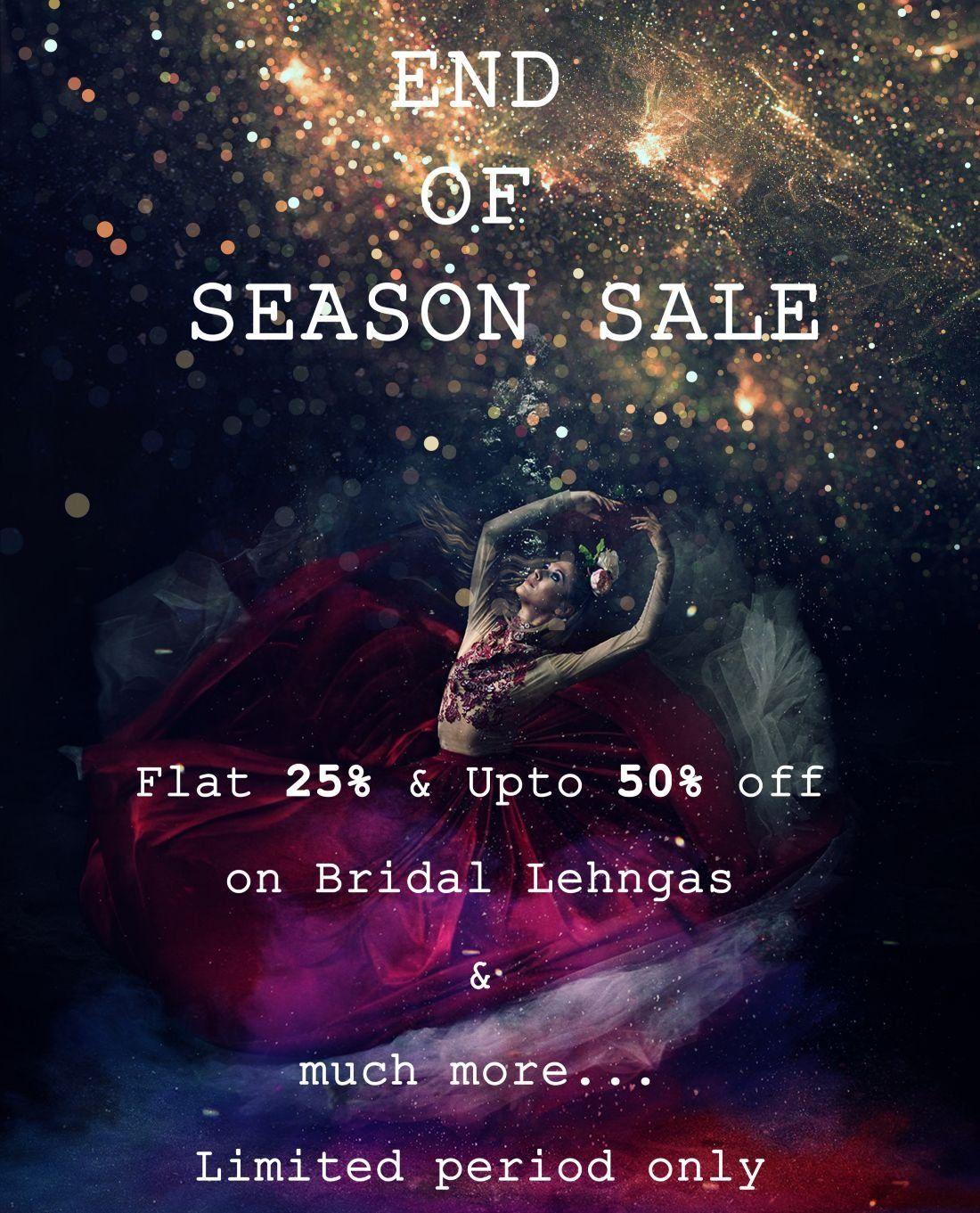 End Of Season Sale 2019