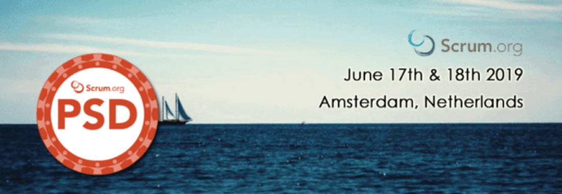 Professional Scrum Developer (PSD)  June 17th  18th  2019  Amsterdam   Netherlands