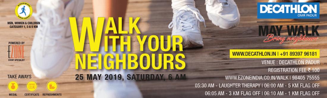 Decathlon OMR Padur - Walk With Your Neighbours