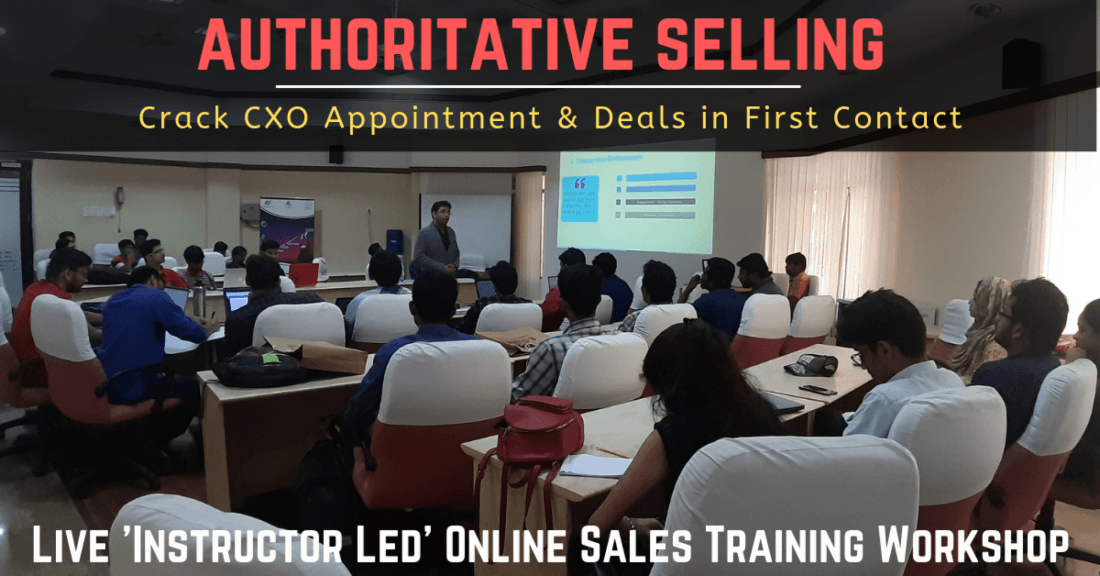 Sales Training in Bangalore  Live Online Trainer Led