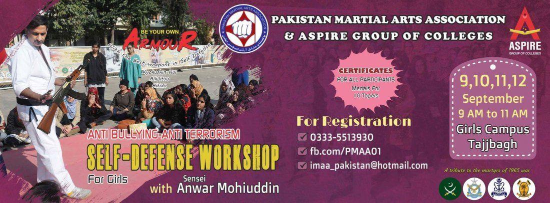 Anti Bullying and Anti Terrorism Self Defense Workshop for Women