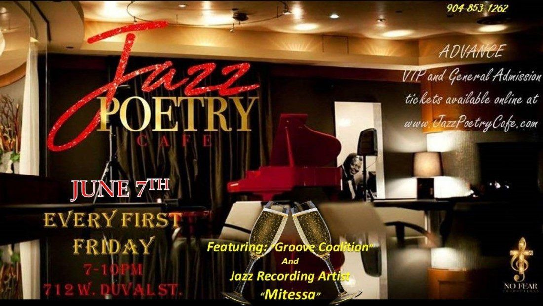 Jazz Poetry Cafe  First Fridays
