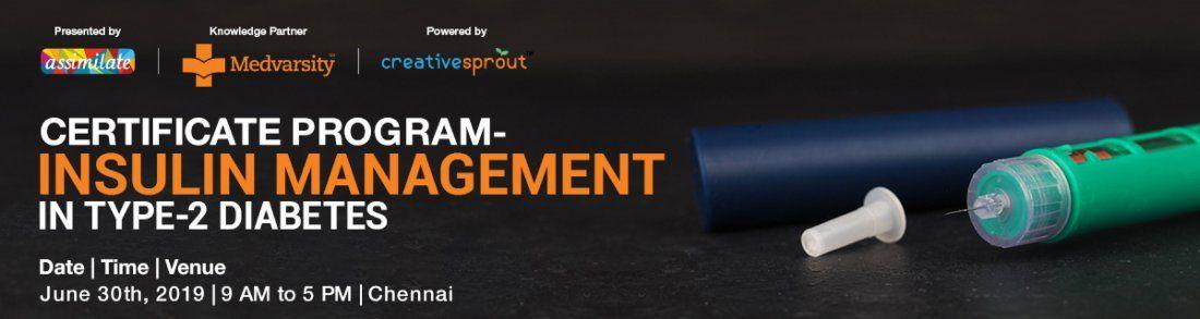 Workshop on Insulin Management in Type-2 Diabetes - Chennai