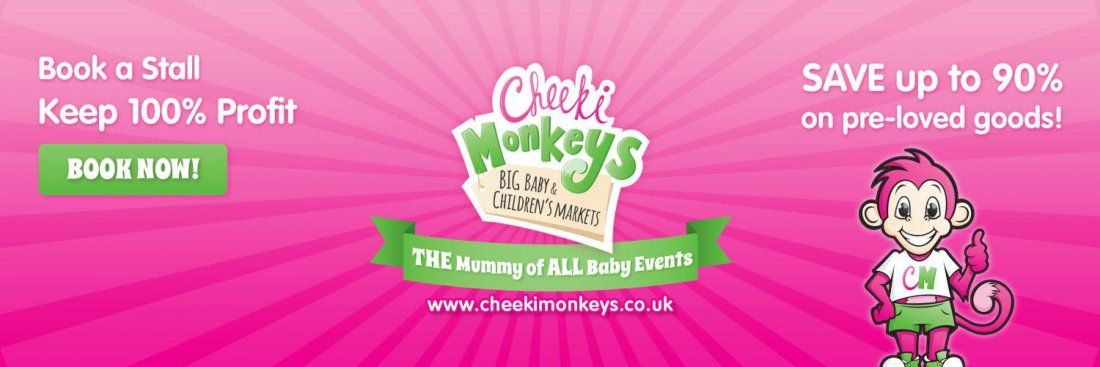 Cheeki Monkeys pre-loved baby and childrens clothes and toys indoor market.