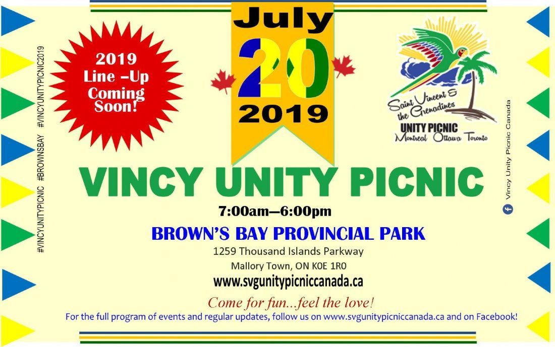 Vincy Unity Picnic Hosted by Vincy Unity Picnic Canada
