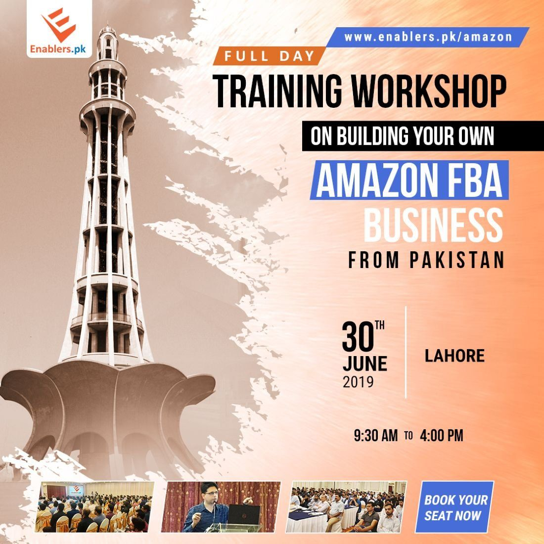 Build Amazon Business from Pakistan