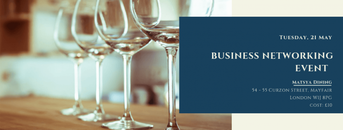 Business Networking  The Mayfair Networking Club Event on 26 June 2019