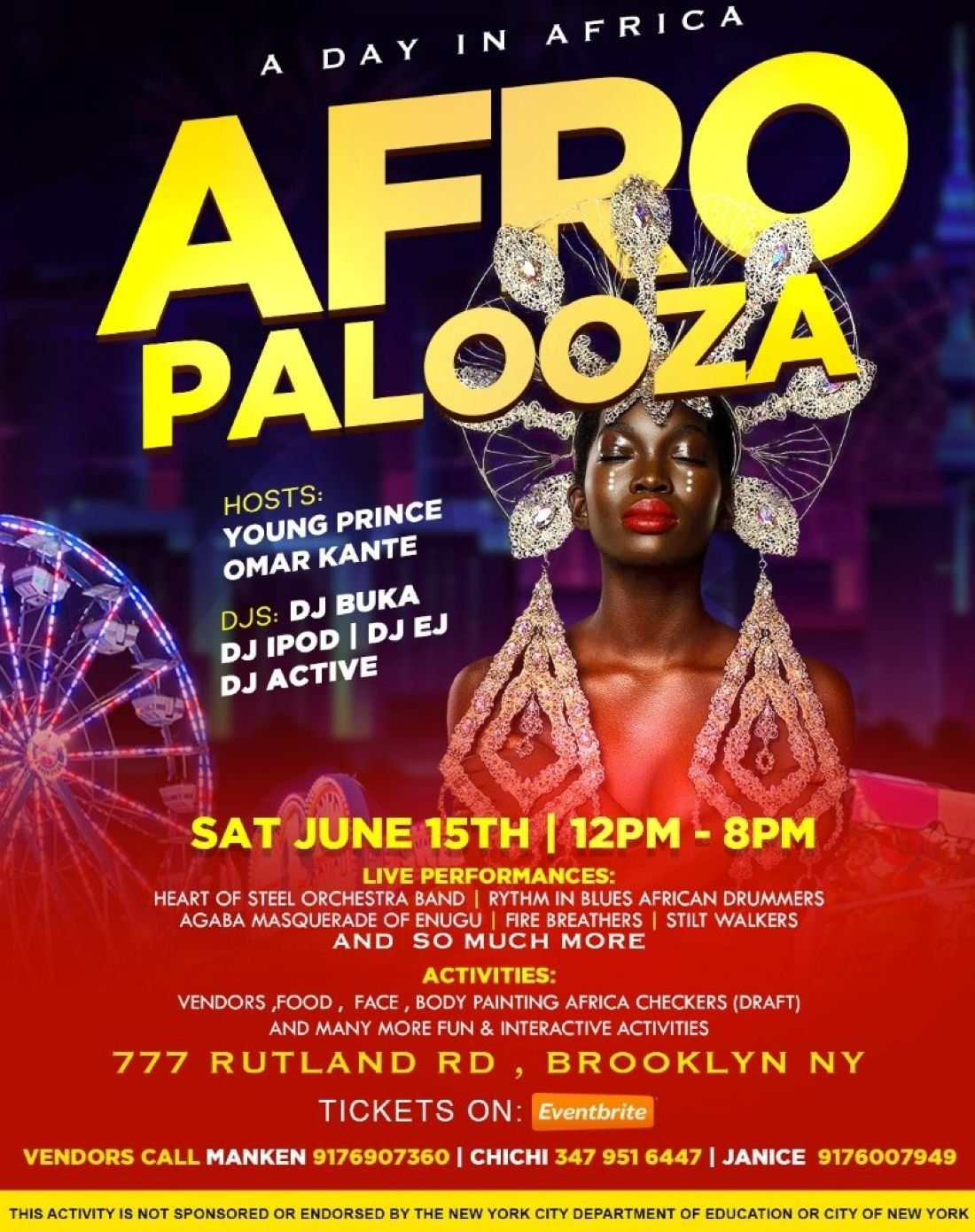 A Day In Africa Afropalooza