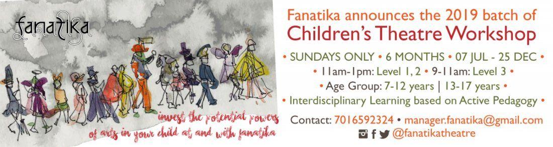Childrens Theatre Workshop (Sundays Only)