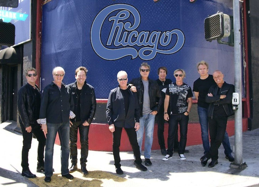 Chicago - The Band at MECU Pavilion Baltimore MD