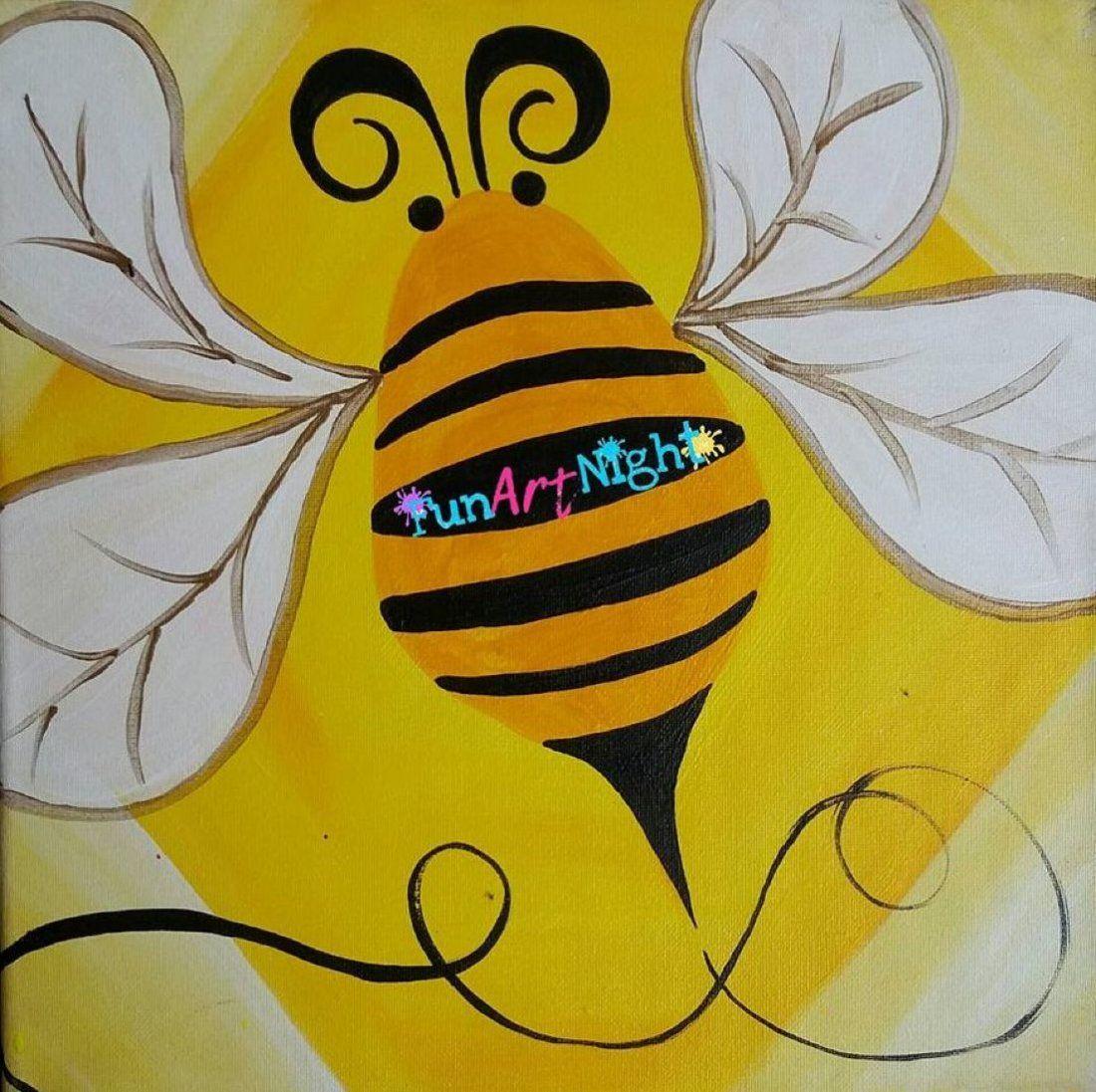 Kids Art Night Buzzy Bee in Waynesboro