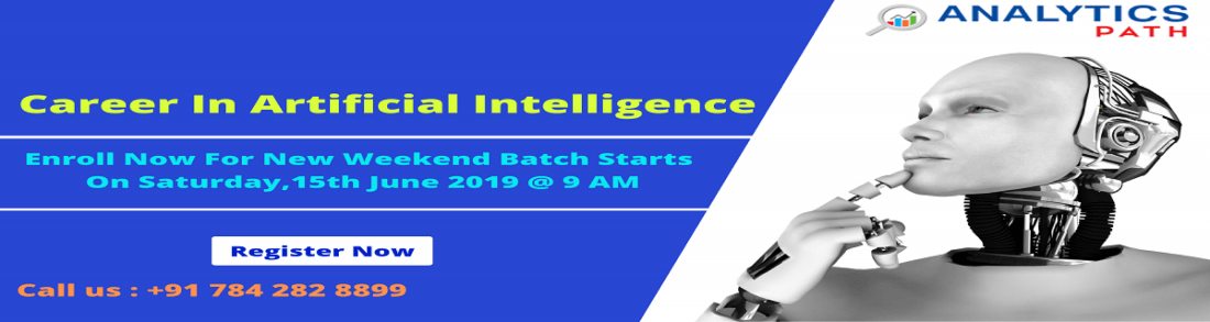 New Weekend Batch On AI At Analytics Path Commencing From 15th June 9 AM Hyderabad