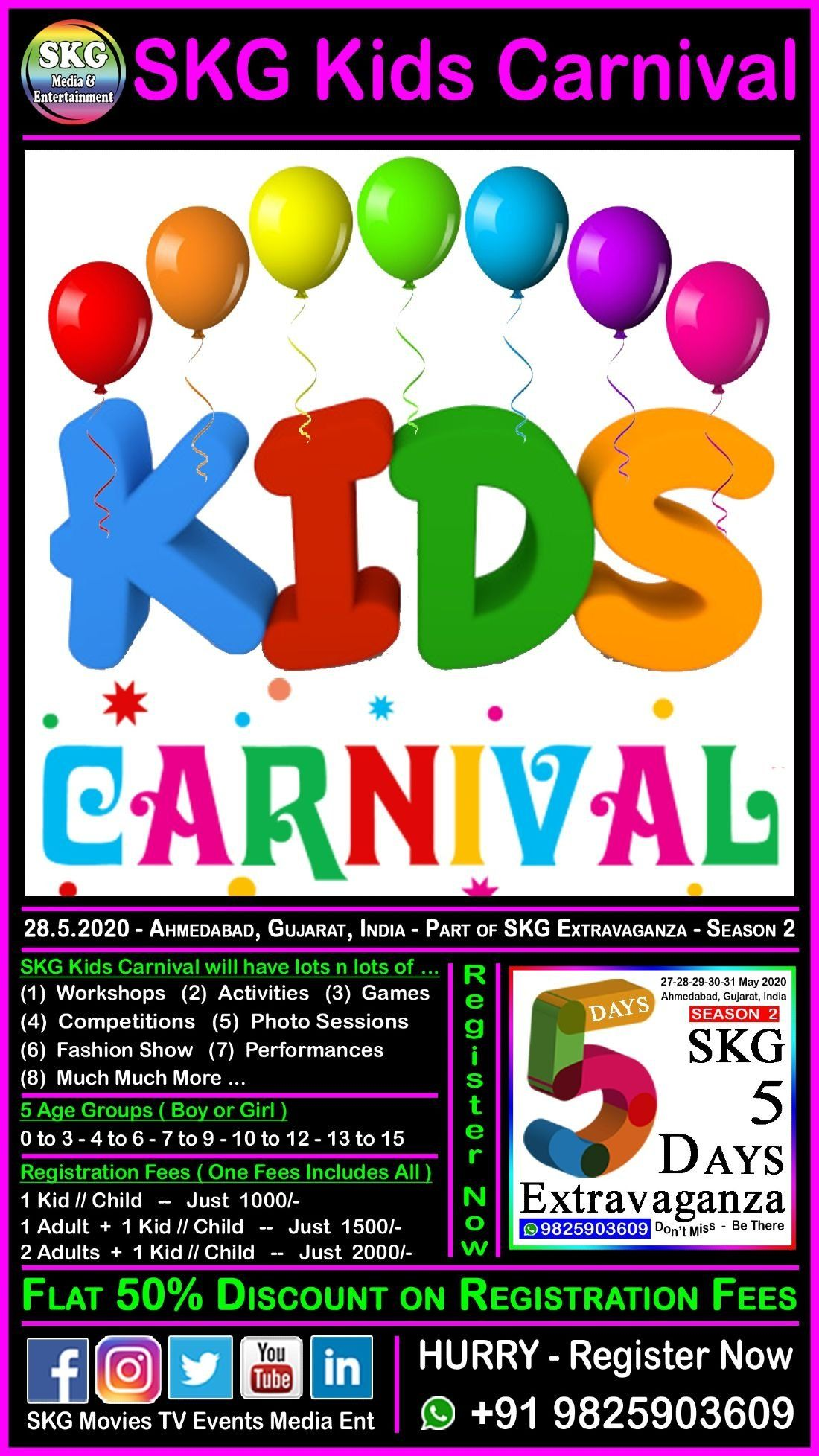 SKG Kids Carnival - Part of SKG 5 Days Extravaganza - Season 2