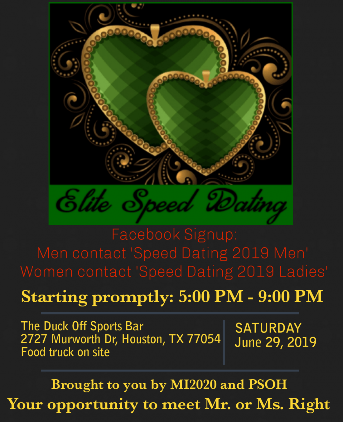 Speed dating st. louis mo