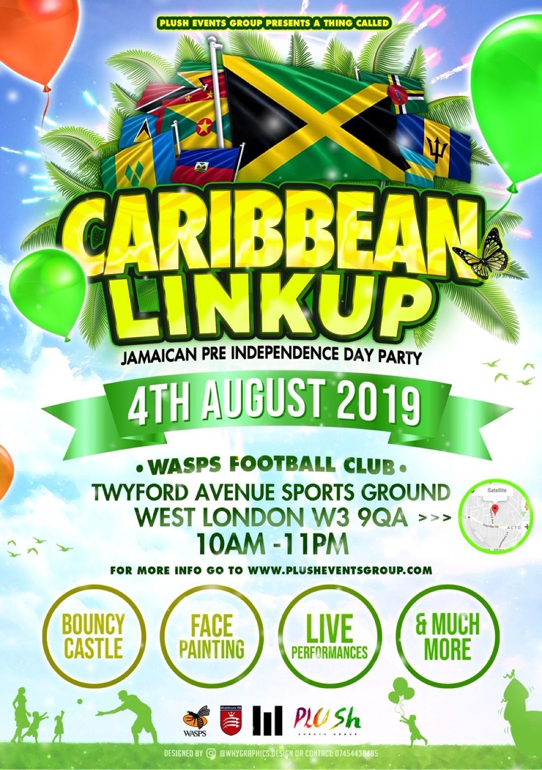 ⭐CARIBBEAN LINKUP⭐Jamaica independence Pre Party + More