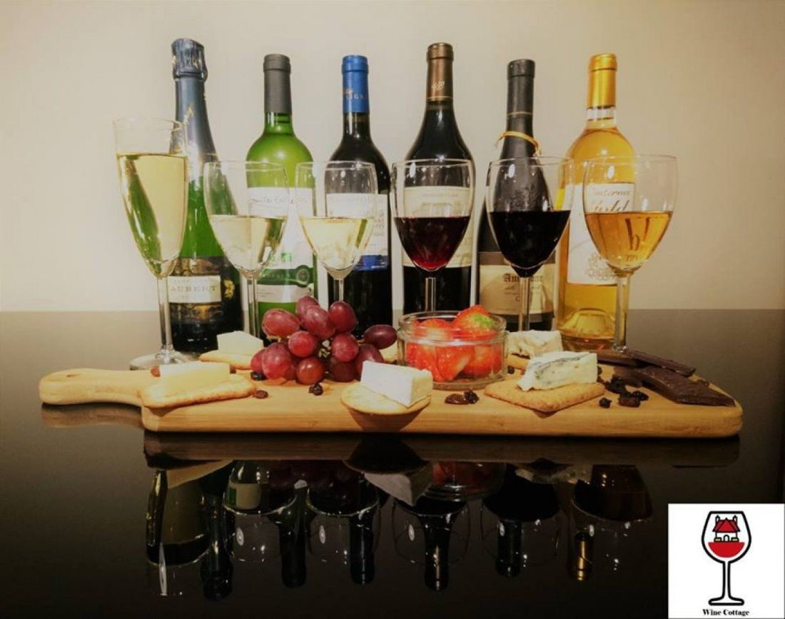 LUXURY VINTAGE AND ESTATE RED WINE AND CHEESE TASTING