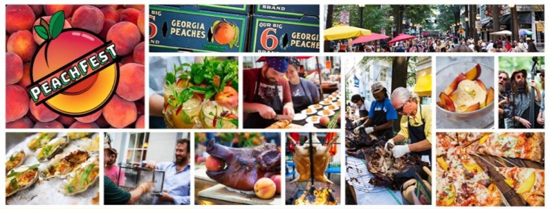Peachfest Atlanta - Your 2019 All-In Peach Feast w. 70 Chefs & Producers