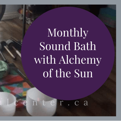 Monthly Singing Bowl and Gong Sound Meditation
