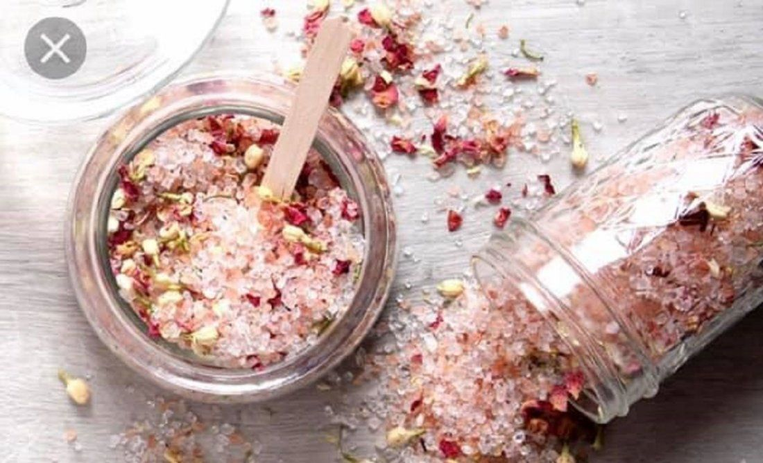 Intention Bath Salts with Crystals Make and Take