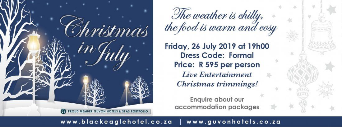 Christmas In July 2019 Walter Sisulu.Events In Roodepoort In July 2019