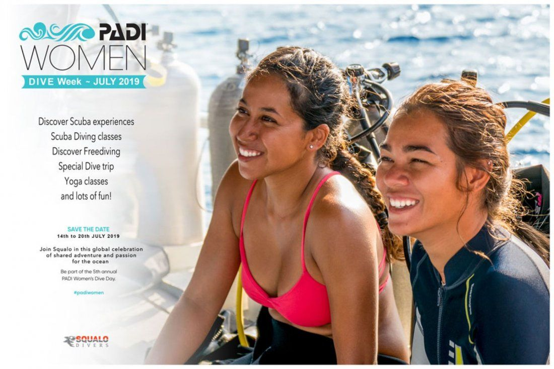 PADI Women Dive Week Celebration