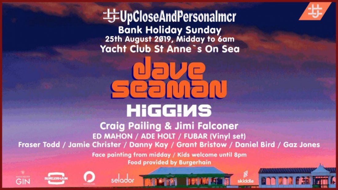 UCAP Bank Holiday 18hr  Gathering with Dave Seaman  St Annes