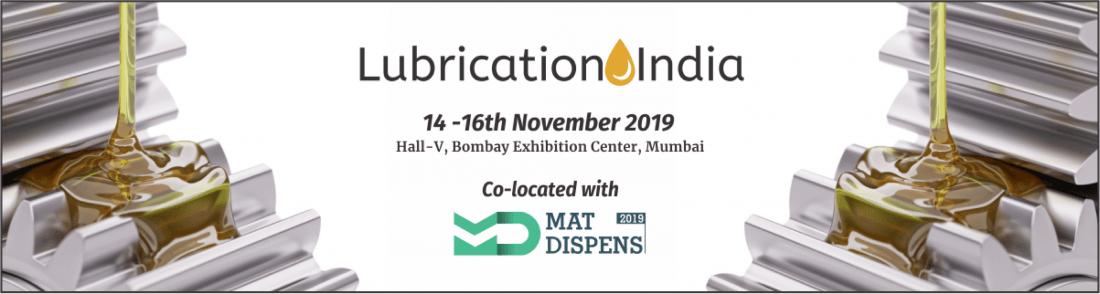 LUBRICATION INDIA 2019 at Bombay Exhibition Centre, Mumbai